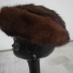 Chapeaux d'hiver en fourrure et feutre.